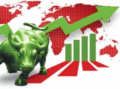 پاکستان اسٹاک مارکیٹ میں تیزی کا رجحان برقرار ،