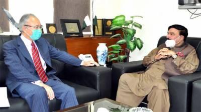 جاپان ریلوے کمپنیاں پاکستان ریلوے کیساتھ شراکت داری کا ارادہ رکھتی ہیں، جاپانی سفیر