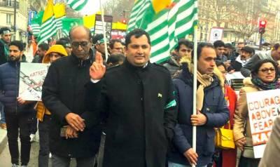بھارت کا نیا ڈومیسائل قانون کشیریوں کے لیے ہرگز قابل قبول نہیں۔ فرزند کشمیر مرزا ساجد جرال