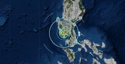 فلپائن کے مرکزی جزیرہ لوزون کے قریب 5.4 شدت کا زلزلہ