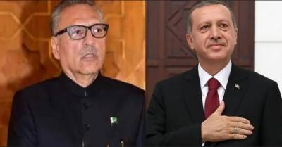 ترک صدر کا پاکستانی صدر سے ٹیلیفونک رابطہ، پاکستانی قیادت اور قوم کو عیدالفطر کی مبارک باد