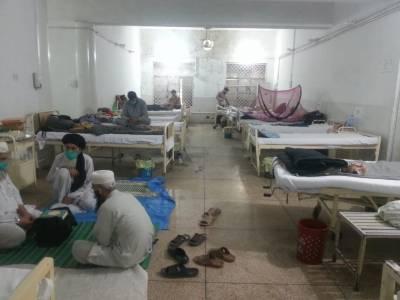 سیالکوٹ میں کروناوائرس کے 538 مریض ہسپتالوں اور قرنطینہ سینٹروں میں زیر علاج