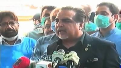 طیارہ حادثے کے باعث تباہ ہونیوالی عمارت کی دوبارہ تعمیر کے تمام اخراجات حکومت برداشت کریگی، گورنر سندھ