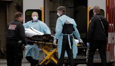 امریکا میں کورونا سے اموات ایک لاکھ سے تجاوز کر گئیں