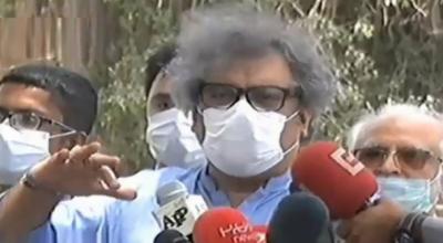 علی زیدی نےجے آئی ٹی مشترکہ تحقیقاتی رپور ٹ سامنےنہ لانے پرتوہین عدالت کی درخواست دائرکردی
