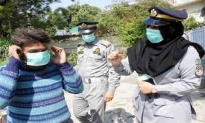 اسلام آباد: عوامی مقامات پر چہرے پر ماسک پہننا لازمی قرار