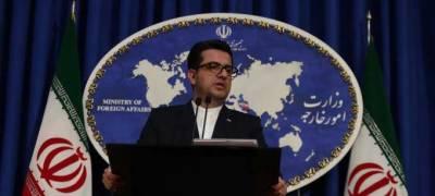 ایران کا امریکہ پر شہریوں کیخلاف پر تشدد کارروائیوں کا سلسلہ بند کرنے پرزور