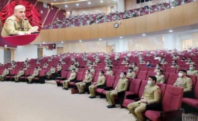پاکستانی فوج قوم کی حمایت سے ناقابل تسخیر فوج ہے:آرمی چیف