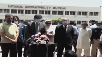 جعلی اکائونٹس کیس اور سولر لائٹس ٹھیکے'وزیر اعلی سندھ مراد علی شاہ نیب راولپنڈی میں پیش، بیان ریکارڈ کرلیا