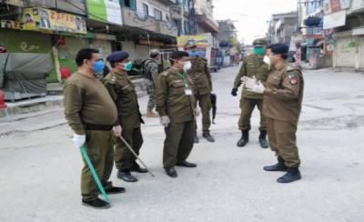 اسلام آباد: کورونا کیسز میں تیزی سے اضافہ، 9 مقامات سیل کرنے کا فیصلہ