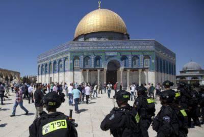 اسرائیلی پولیس کا مقبوضہ بیت المقدس میں فلسطینیوں پر حملہ