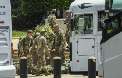 پنٹاگون نے واشنگٹن میں تعینات نیشنل گارڈ کو غیر مسلح کر دیا