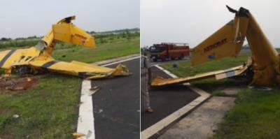 بھارتی ریاست اڑیسہ میں تربیتی طیارہ گرکر تباہ ،2 پائلٹ ہلاک