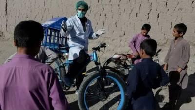 افغانستان میں کرونا کے ساتھ ساتھ پولیو کے نئے کیسز میں بھی اضافہ