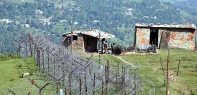 بھارتی فوج کی کنٹرول لائن پرجنگ بندی کی خلاف ورزی،چار شہری شہید