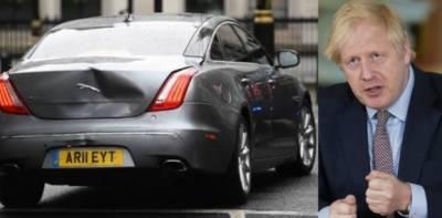 برطانوی وزیراعظم کا قافلہ ٹریفک حادثے کا شکار