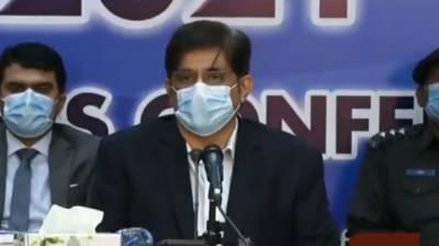 رواں مالی سال وفاق سے 229 ارب روپے کم ملے ہیں: مراد علی شاہ