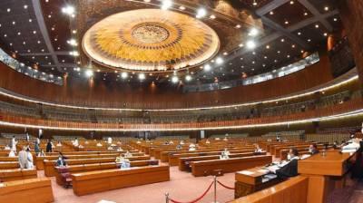 قومی اسمبلی،میر محمد خان جمالی کی بجٹ میں کوئی نیا ٹیکس نہ لگانے پر حکومت کی تحسین