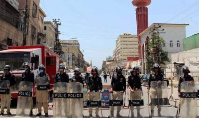 کراچی میں کورونا سے زیادہ متاثرہ علاقوں میں 14 روز کا لاک ڈاؤن نافذ