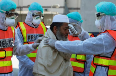 کورونا وائرس: پاکستان میں مسلسل دوسرے روز 130 سے زائد اموات، 5439 کیسز کا اضافہ