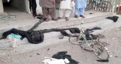 کراچی ، احساس پروگرام کے دفتر کے باہر کریکر حملہ ، 1 شخص جاں بحق ،7زخمی