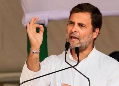 مودی حکومت سرحدی تنازعہ سے نمٹنے میں بری طرح ناکام ہوگئی۔راہول گاندھی