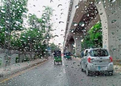 لاہور سمیت پنجاب کے مختلف شہروں میں بارش ،گرمی کازورٹوٹ گیا
