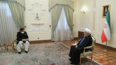 ایران و پاکستان مشکل حالات میں ایک دوسرے کے ساتھ تھے. صدر حسن روحانی