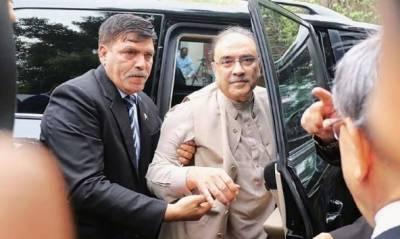 پارک لین ریفرنس: آصف زرداری پر فرد جرم کیلئے 6 جولائی کی تاریخ مقرر