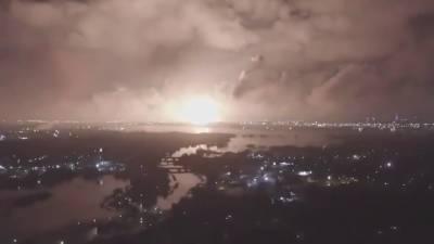 تہران کے قریب حساس علاقے میں گیس کا شدید دھماکہ
