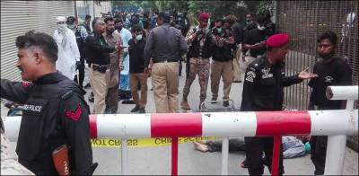 پاکستان اسٹاک ایکسچینج پر حملہ، دہشت گردوں سے لڑنیوالے اہلکاروں کیلئےبڑے انعام کا اعلان