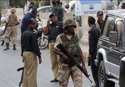 کراچی کے مختلف علاقوں میں پولیس، رینجرز کا سرچ آپریشن