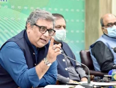 سندھ حکومت نے آج اپنے پیروں پر کلہاڑی مارلی: علی زیدی