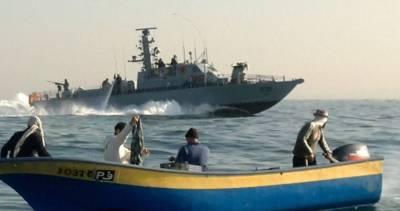 غزہ :اسرائیلی بحریہ نے4فلسطینی ماہی گیرگرفتارکر لیے