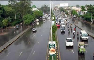 پنجاب میں آندھی اور بارش کے ساتھ مون سون کا آغاز ہوگیا