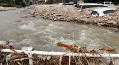 جاپان:سیلاب اورمٹی کے تودے گرنے سے 37 افرادکے ہلاک ہونے کاخدشہ