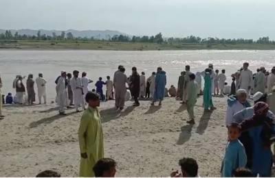 لنڈی کوتل:دریائے کابل میں نہاتے ہوئے 2 افراد ڈوب گئے