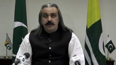 غیور اور بہادرکشمیری اپنے حق خود ارادیت کے مطالبے سے ایک انچ بھی پیچھے ہٹنے کے لیے تیار نہیں ہیں۔علی امین خان گنڈا پور