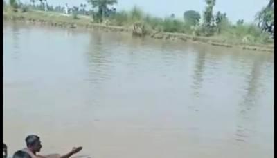 شیخوپورہ: نہر میں نہاتے نوجوان ڈوب کر جاں بحق