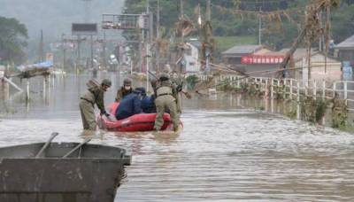 جاپان میں طوفانی بارشیں، اموات کی تعداد 50ہوگئی