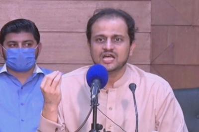 علی زیدی بتائیں انہیں کون جے آئی ٹی رپورٹس دے رہا ہے; ترجمانسندھ حکومت مرتضیٰ وہاب