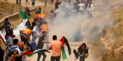 فلسطینی شہریوں اور اسرائیلی فوجیوں کے مابین پرتشدد جھڑپیں پھوٹ پڑیں
