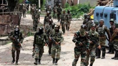 بھارتی فوج کی مقبوضہ علاقے میں بڑے پیمانے پر محاصرے اور تلاشی کی کارروائیاں جاری