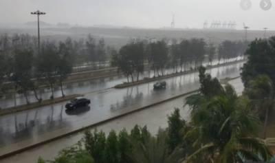 کراچی میں بارش کا دوسرا سسٹم 24 جولائی کو بننے کا امکان