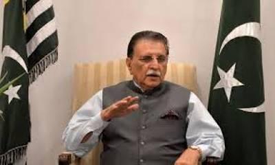 افواج پاکستان کے شہداء اور غازی پوری قوم کے لیے باعث فخر ہیں۔ فاروق حیدر خان