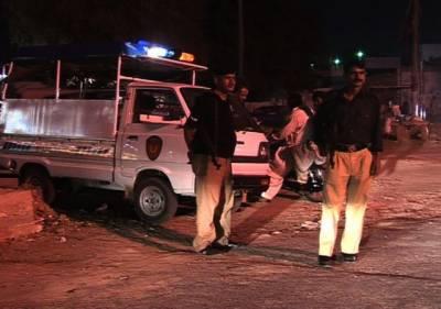 کراچی:نامعلوم افراد کی فائرنگ ،پولیس اہلکار زخمی