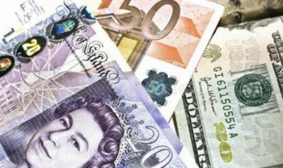 ڈالر کے مقابلے میں روپے کی قدر دوبارہ کم ہونا شروع ہو گئی,یورو اور برطانوی پاونڈ کی قیمت میں کمی