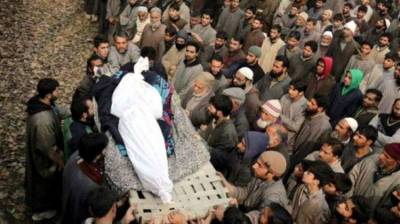 بھارتی فوج کی دہشتگردی جاری، جنوبی ضلع کولگام اور شمالی ضلع کپواڑہ میں 4 کشمیری نوجوان شہید