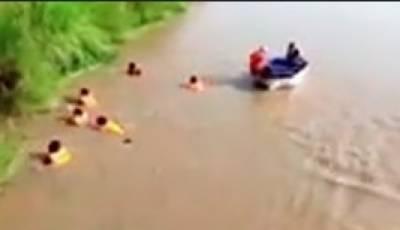 غربت سے تنگ آکر نہر میں ڈوبنے والے 5 میں سے 3 افراد کی لاشیں برآمد