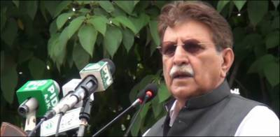 کشمیریوں نے اپنا مستقبل پاکستان سے وابستہ کر رکھا ہے، فاروق حیدر